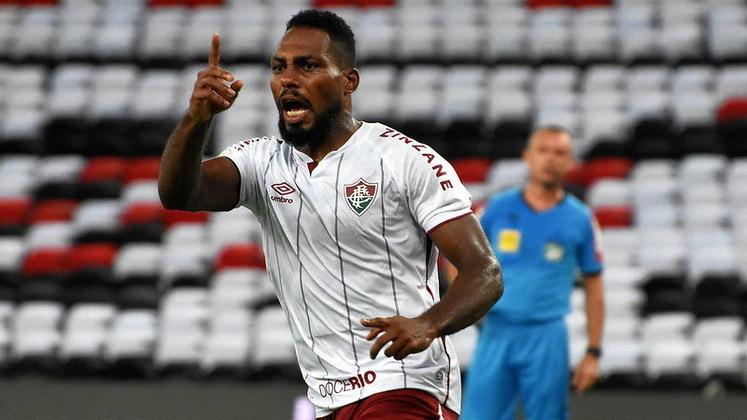 7º colocado – Fluminense (43 pontos/28 jogos): 0.35% de chances de ser campeão; 42.6% de chances de Libertadores (G6); 0.001% de chances de rebaixamento.