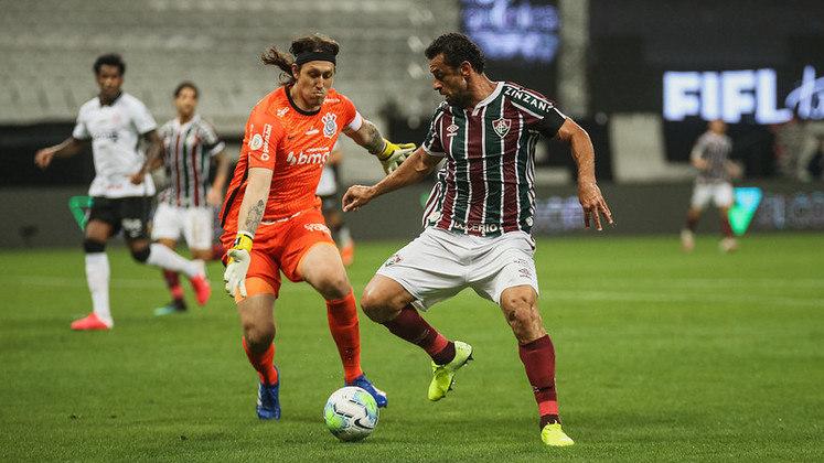 7º colocado – Fluminense (46 pontos/30 jogos): 0.17% de chances de ser campeão; 31.9% de chances de Libertadores (G6); 0.00% de chances de rebaixamento.