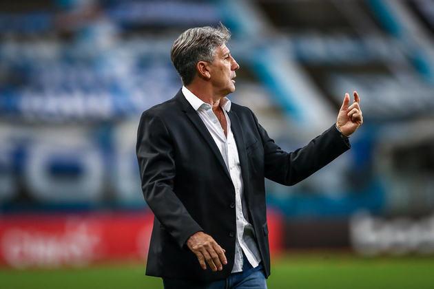 7º colocado – Grêmio (33 pontos) – 8.6% de chances de título; 69% para vaga na Libertadores (G6); 0.089% de chance de rebaixamento. (Com um jogo a menos no Brasileirão)