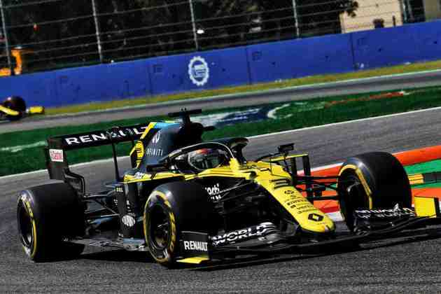 7) Daniel Ricciardo (Renault), 1min19s864
