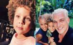 Antonio Rickli, de sete anos, também está na lista de crianças que encantam as redes sociais. Filho de Aline Wirley e Igor Rickli - intérprete de Lúcifer em Gênesis - o pequeno é apelidado nas redes de