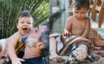 Já o caçula Zayn, de 11 meses, chegou para terminar de explodir o fofurômetro no lar dos Gagliasso