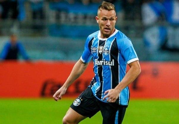 7º - GRÊMIO - O Tricolor Gaúcho arrecadou 471 milhões de reais na última década com a venda de jogadores. As negociações do volante Arthur (foto) e do atacante Luan, ajudaram na conta