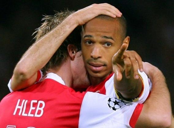 7º - Henry - 50 gols em 112 jogos