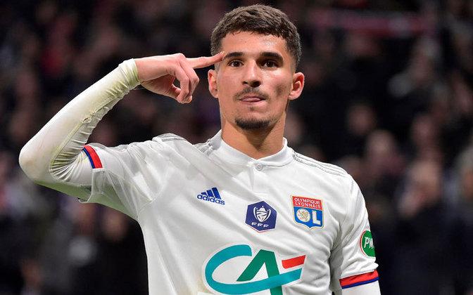 7º – Houssem Aouar - O jovem meia francês, de 22 anos, é um talento do Lyon. Aouar tem valor de mercado de 50 milhões de euros (R$ 330 milhões).