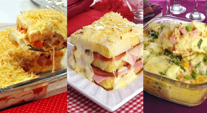 7 lanches práticos e cheios de sabor para fazer no forno