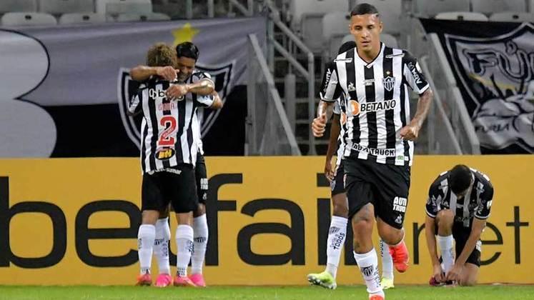ATLÉTICO-MG: Foi campeão mineiro em 2021. Classificado para as oitavas de final da Libertadores de 2021. Foi 3º colocado na Série A de 2020.