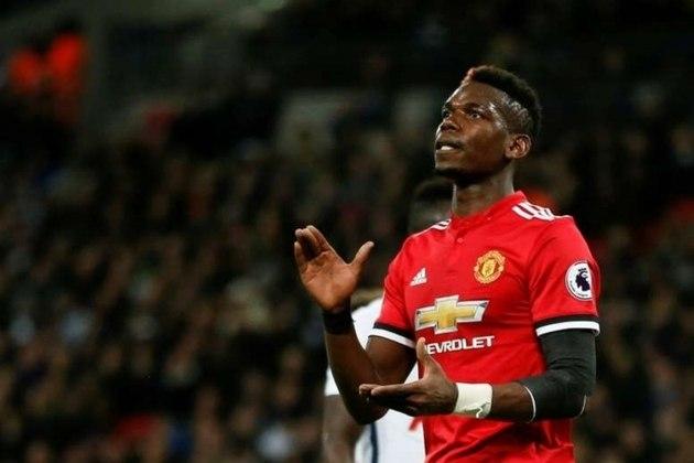 7º lugar: Paul Pogba, meia do Manchester United - Faturamento de 34 milhões de dólares por ano