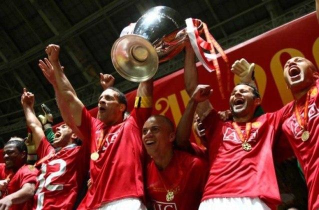 7º - Manchester United - 3 títulos (1967–68, 1998–99 e 2007–08).