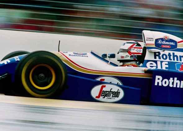 7 - Nigel Mansell, 32 poles, a última delas com o Williams FW16B no GP da Austrália de 1994