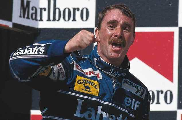 7º - O inglês Nigel Mansell, com 31 vitórias