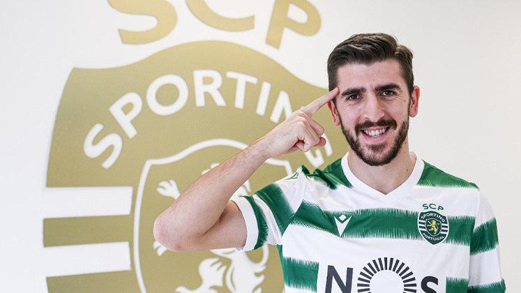 7º – Paulinho O centroavante português, de 28 anos, trocou o Braga pelo Sporting. Paulinho custou 16 milhões de euros (R$ 105 milhões).