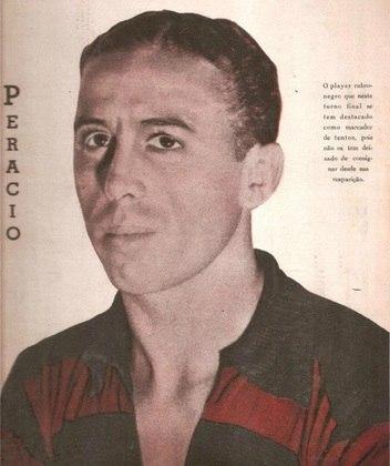 7º - Perácio - Flamengo - 12 gols