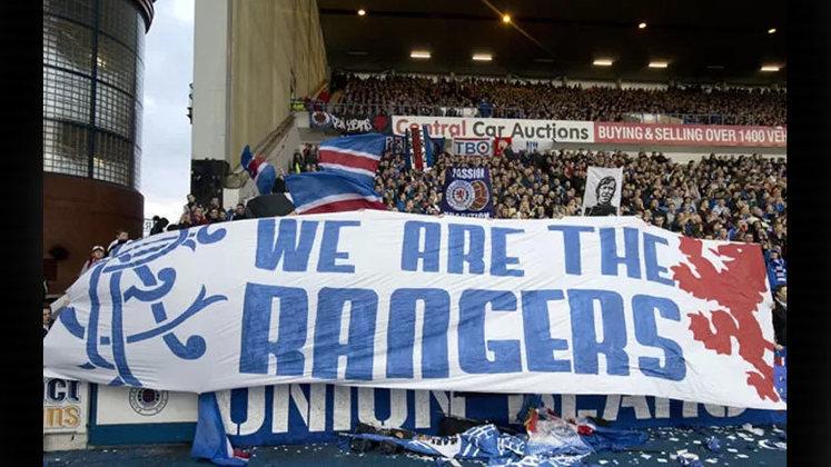 7. Rangers (Escócia) - 21 vitórias - 2013/2014