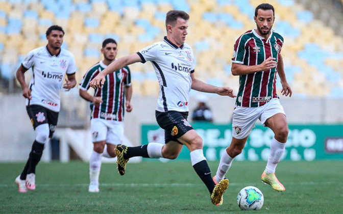 7ª Rodada -  27/6/2021 (domingo) - 16h - Fluminense x Corinthians - Maracanã - Globo e Premiere