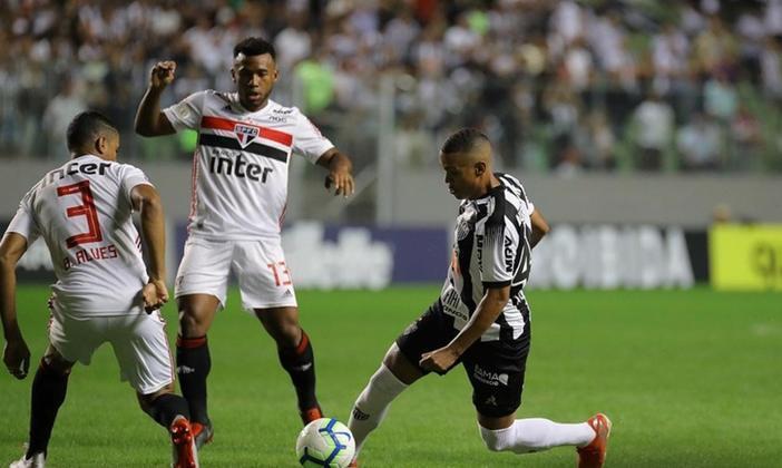 7ª rodada - Atlético-MG x São Paulo - Jogo será na quinta-feira, 3 de setembro, às 20h. Por opção do Galo, o local mudou: passou do Independência para o Mineirão. No ano passado, o São Paulo empatou em Minas (1 a 1) e ganhou no Morumbi (2 a 0).