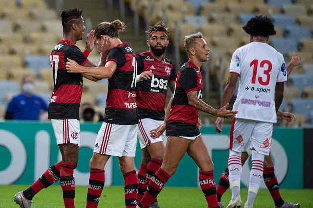 7ª rodada - Flamengo 3x0 Bangu (Maracanã - 31/03/2021) - Gols do Flamengo: Bruno Henrique, Arrascaeta e Gabigol