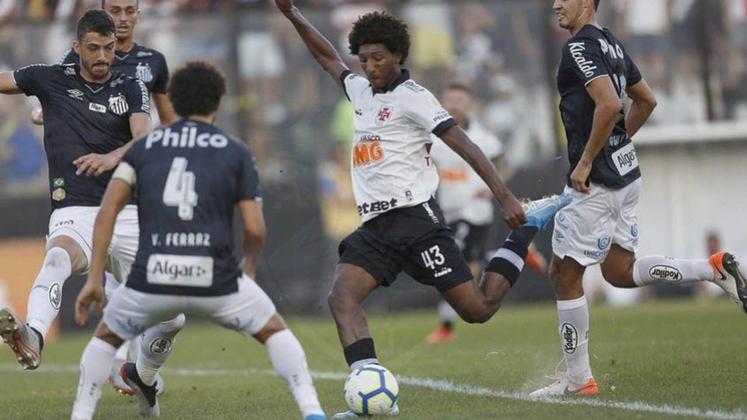 7ª rodada - Santos x Vasco - 2/9 - 21h30 - Vila Belmiro