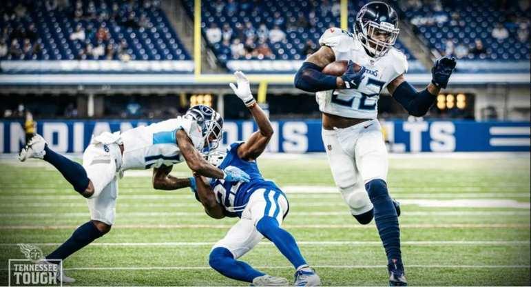 7º Tennessee Titans: O ataque começou a progredir, além de todo o talento de Derrick Henry. Se a defesa subir um degrau, os Titans começam a sonhar com Super Bowl.