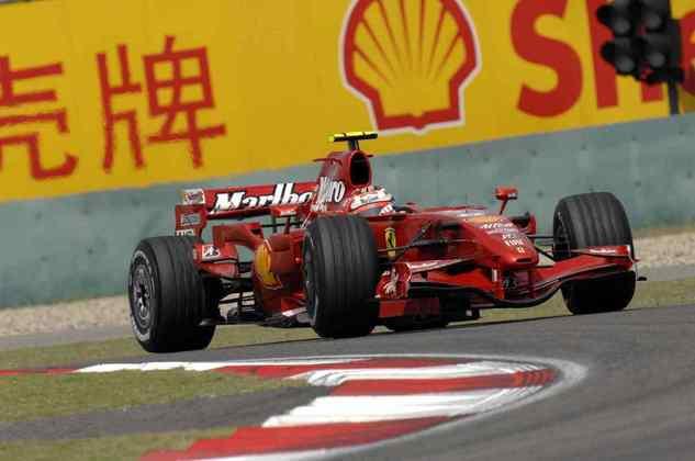 7 - Último campeão da Ferrari, Kimi Räikkönen acumula 10 vitórias