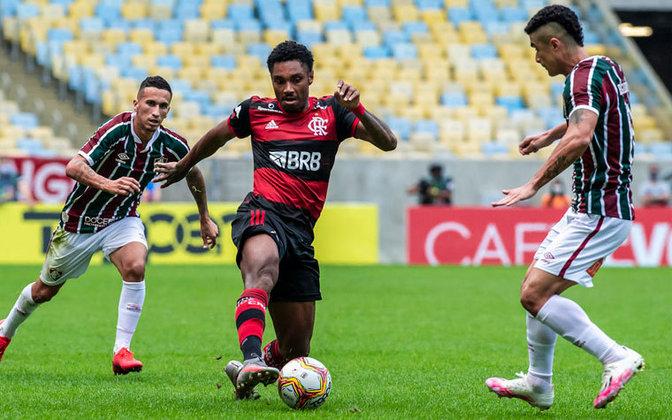 7º: Vitinho - 3 gols (43 jogos).