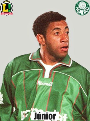 7,0 - Júnior - É o jogador do time do Palmeiras, Atuando mais pelo meio-campo do que pela lateral, com a escalação de Pena, levou sempre a equipe ao ataque com jogadas muito rápidas.