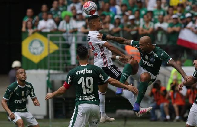 7/4/2019 - Palmeiras 0 (4)x(5) 0 São Paulo - jogo de volta da semifinal do Campeonato Paulista