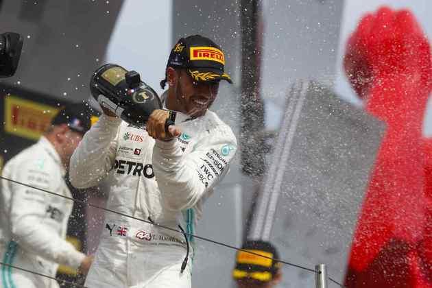 79 - Novamente o monótono GP da França, em Paul Ricard, foi vencido por Hamilton