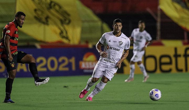 8º- Atlético-MG: R$ 21 milhões em receitas com patrocínio em 2020