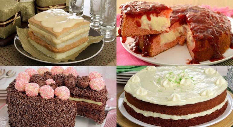 8 bolos recheados para provar ainda hoje!