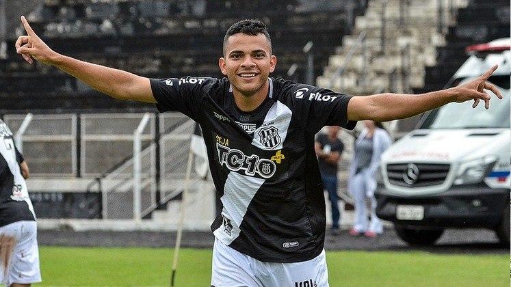 8) Bruno Rodrigues - Ponte Preta - 17 assistências para finalização (10 jogos)