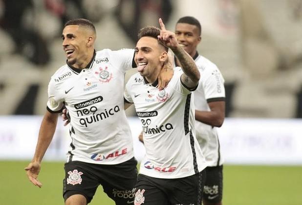 8º colocado – Corinthians (48 pontos/33 jogos): 0.0% de chances de ser campeão; 48% de chances de Libertadores (G6); 0% de chances de rebaixamento.