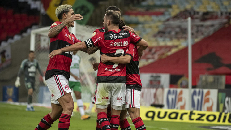 8º colocado – Flamengo (15 pontos) – 9 jogos / 2.8% de chances de título; 35.6% para vaga na Libertadores (G6); 3.8% de chance de rebaixamento.