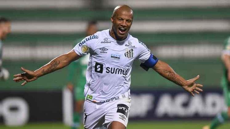 8º colocado – Santos (19 pontos) – 14 jogos / 0.44% de chances de título; 17.6% para vaga na Libertadores (G6); 8.1% de chances de rebaixamento.