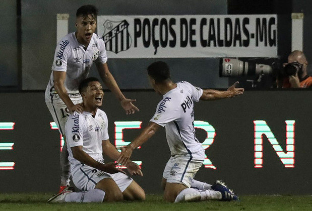 8º colocado – Santos (38 pontos) – 24 jogos / 1.3% de chances de título; 47.7% para vaga na Libertadores (G6); 0.022% de chance de rebaixamento.