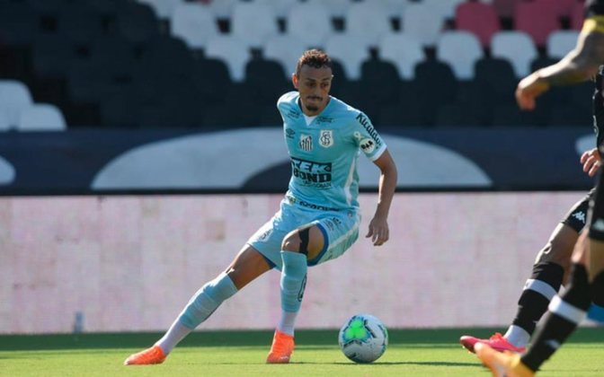 8º colocado – Santos (38 pontos/26 jogos): 0,091% de chances de ser campeão; 23,3% de chances de Libertadores (G6); 0,11% de chance de rebaixamento.