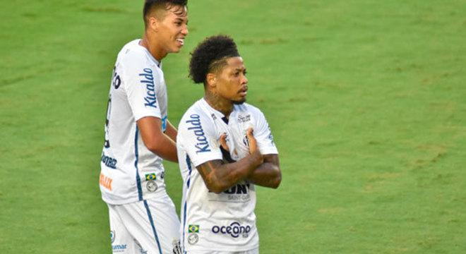 8º colocado – Santos (39 pontos/27 jogos): 0,015% de chances de ser campeão; 12,6% de chances de Libertadores (G6); 0,047% de chance de rebaixamento.
