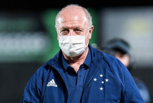 8 – Cruzeiro: Série B do Campeonato Brasileiro, chegada de Luiz Felipe Scolari e Rafael Sóbis e problemas extracampo são alguns dos temas do ano.