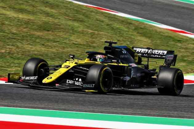 8) Daniel Ricciardo (Renault), 1min16s543