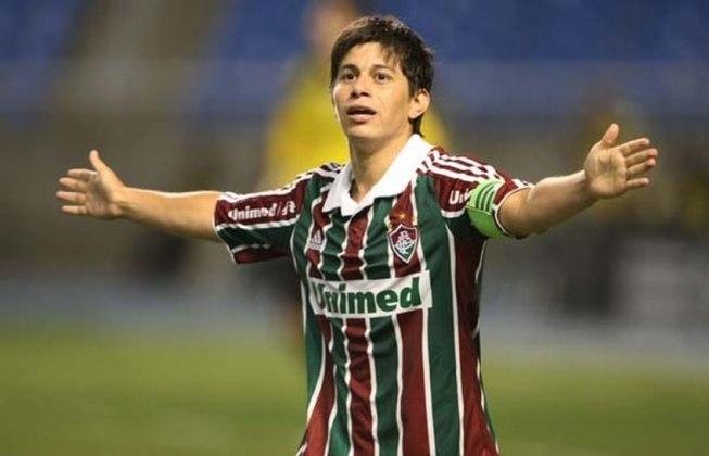 8. Darío Conca, quatro gols (três em 2008 e um em 2011)