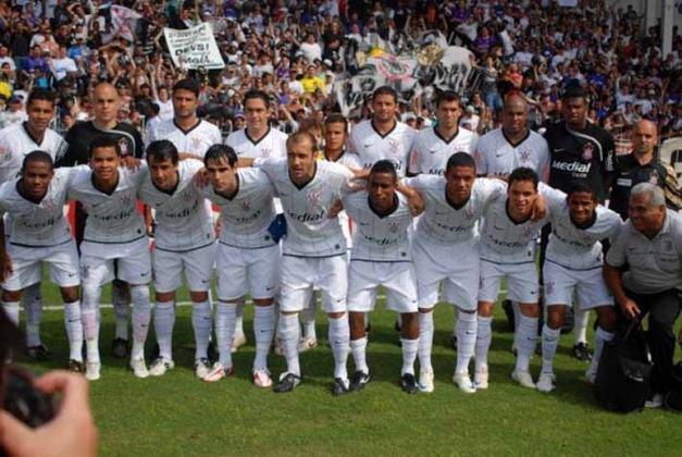 8 de novembro de 2008 - Corinthians conquista o Brasileirão da Série B de 2008 ao garantir a primeira colocação na classificação e o retorno para a Série A.