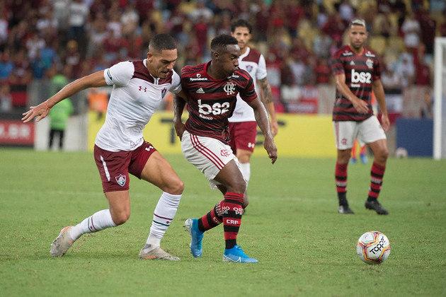8) Flamengo 0 x 1 Fluminense - Data: 29/1/2020 - Local: Maracanã - Público pagante: 43.259 - Campeonato Carioca