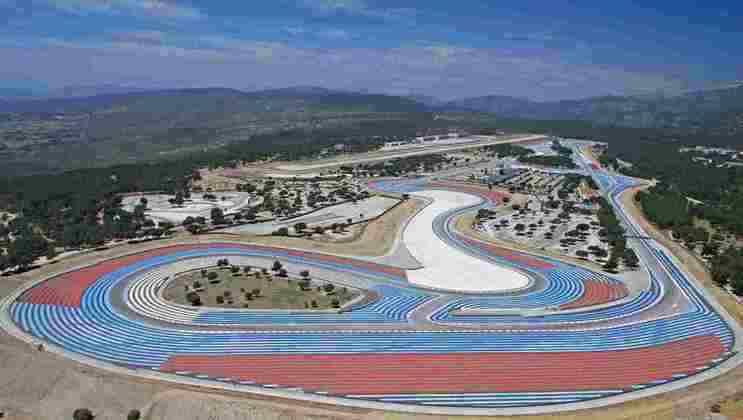 8 - GP da França - Le Castellet - 27 de junho.