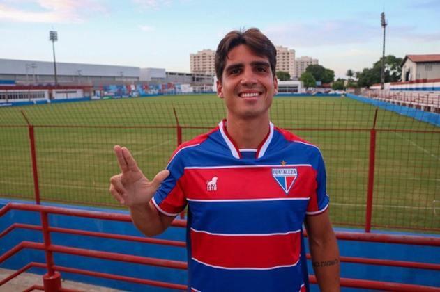8º - Gustavo Blanco: meio campista - 26 anos - contrato com o Fortaleza até dezembro de 2021 - valor de mercado: 750 mil de euros (cerca de R$ 4,5 milhões)