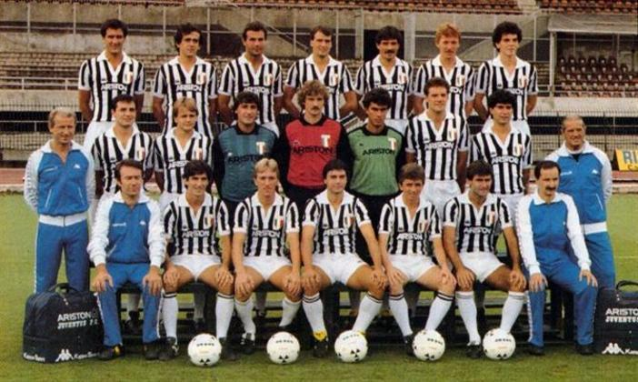 8º - Juventus - 2 títulos (1984–85 e 1995–96).