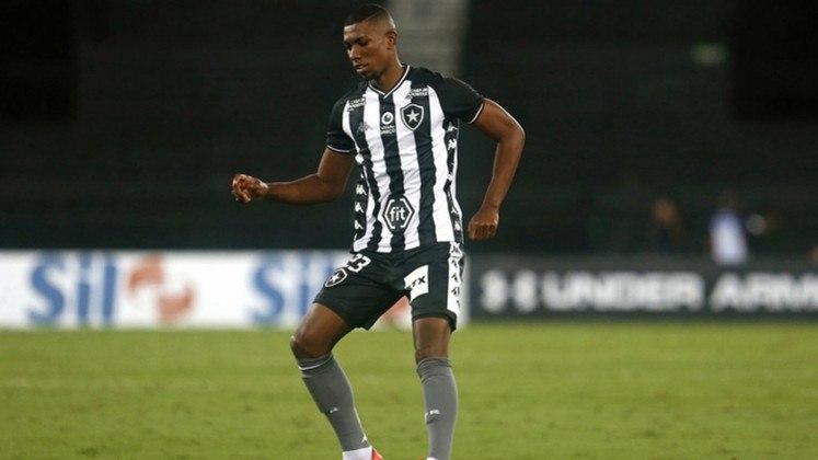 8º - Kanu (23 anos), do Botafogo, está isolado na oitava posição, com dez pontos. São 18 jogos e uma assistência do zagueiro.