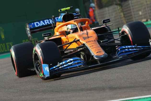 8º - Lando Norris (McLaren): 6.24 - Bastante mediano, mas somou pontos de novo