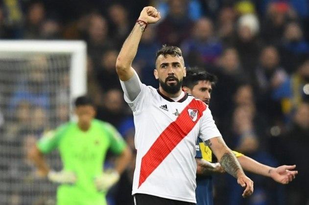 8º - Lucas Pratto - Argentino, o atacante foi vendido ao River Plate em 2017/18, por 11,5 milhões de euros (cerca de R$ 74,4 milhões), segundo o Transfermarkt. A negociação aconteceu em 2017/18