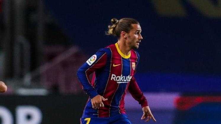 8º lugar: Antoine Griezmann, atacante do Barcelona - Faturamento de 33 milhões de dólares por ano