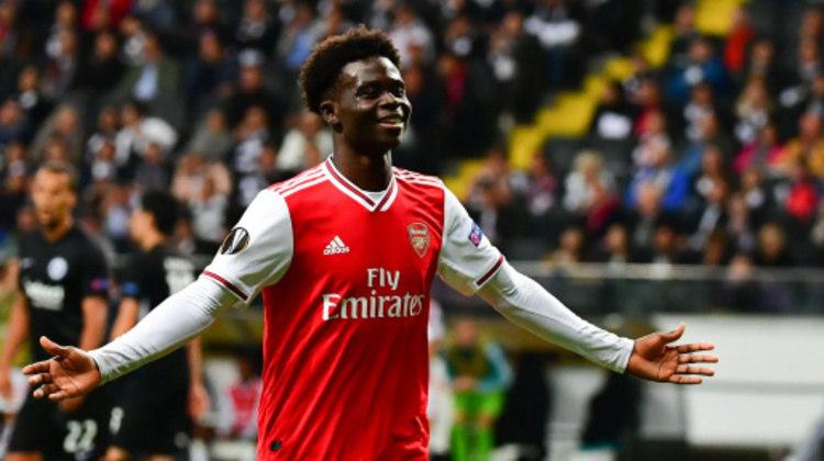 8º lugar: Bukayo Saka (meia inglês - 19 anos - Arsenal) - 13 pontos na votação